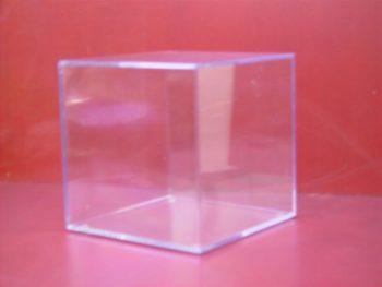 Plastic Kunststof Foto Kubus